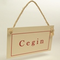 Cegin - Plaque