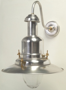 Wall Mounted Fisherman S Lamp : Large Fisherman Wall Lamp Aluminium