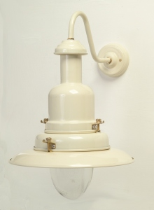 Wall Mounted Fisherman S Lamp : Large Fisherman Wall Lamp Cream