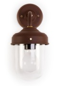 Stable Wall Lamp in Cocoa Bean