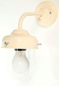Stable Wall Lamp in Cream