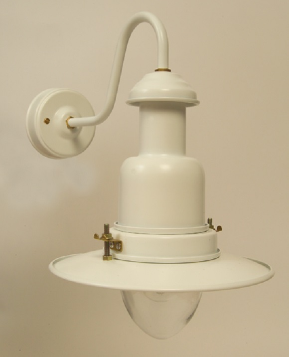 Wall Mounted Fisherman S Lamp : Small Fishermans Wall Lamp Cream