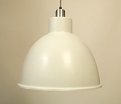 J D Bay Pendant in Chalk White